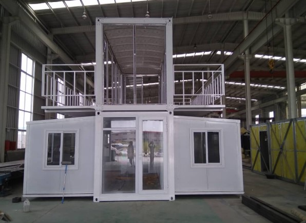 Expandable Container House Expandable Flat Pack Prefab