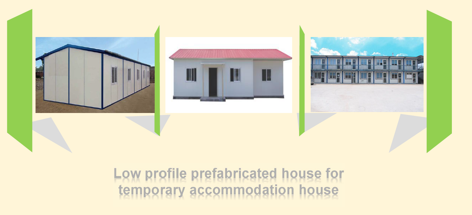 Sample of EPS Cement sandwich panel Prefabricated House