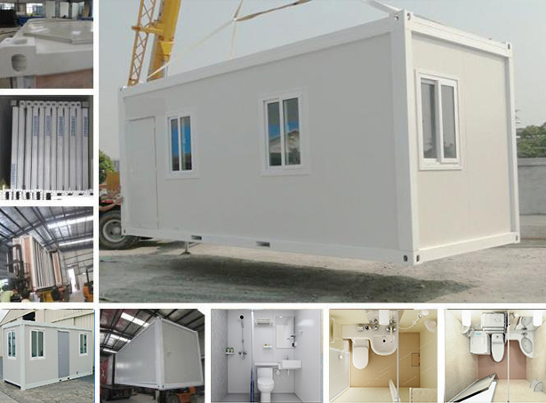 Overwide Flat Pack Container House