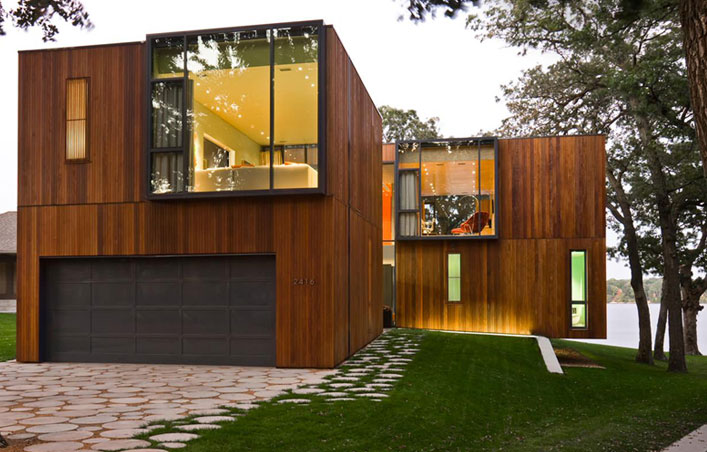 Shipping container home is ecological