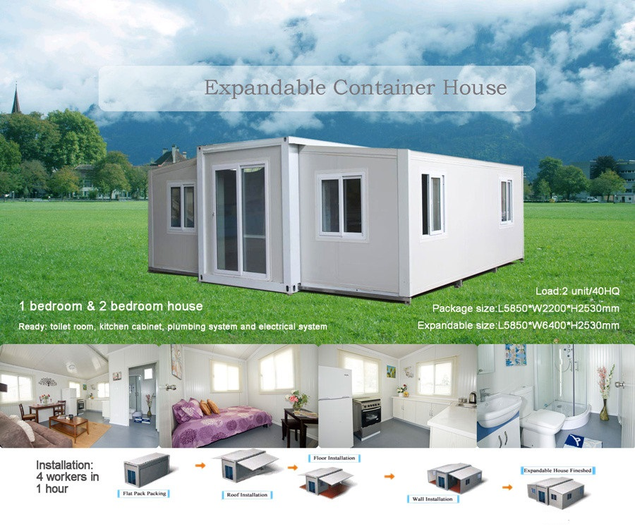 expandable container house hot sale