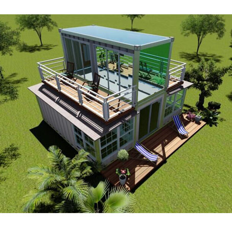 New style of expandable container house for vacation australian container house