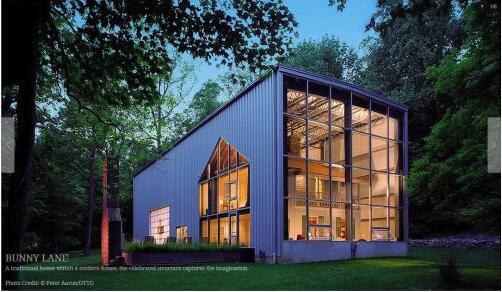 BUNNY LANE SHIPPING CONTAINER HOUSE-L
