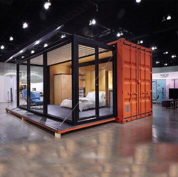 the container house with shipping cost