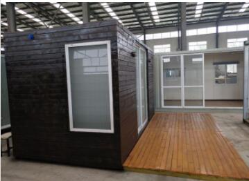 Prefab Home Container Cottage Cabin Startup Small Housing House Hotel 13FT