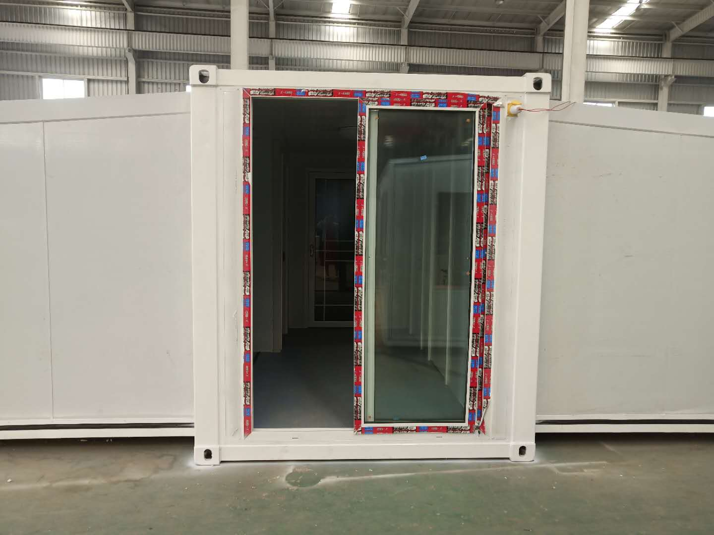 20ft Extended foldable prefab container homes-L