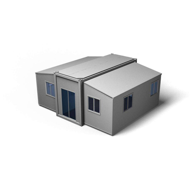 Steel prefab building expandable container houses for sale