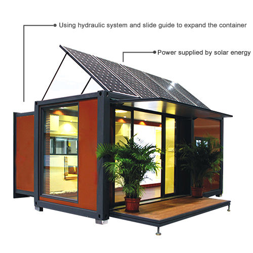 Expandable container house-L