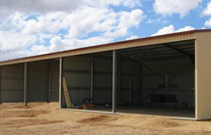 Low Cost Structure Steel Prefabricated Industrial Shed
