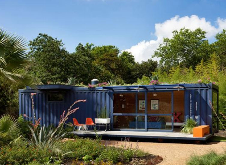 Shipping Container Studio – Guest House