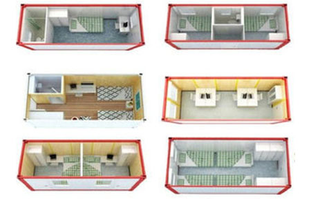 Different Size And Design Flat Pack Container House For Living Room And Office