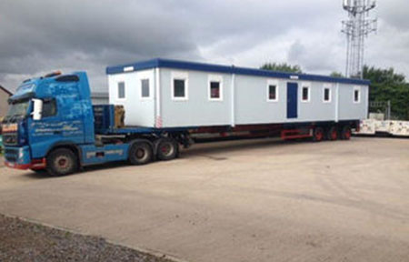 Portable Container Home For Camp