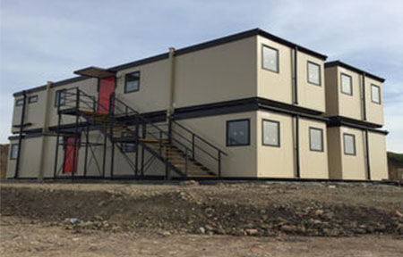 Development prospects of shipping container home