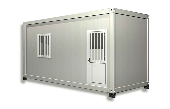 Shipping container home is very affordable