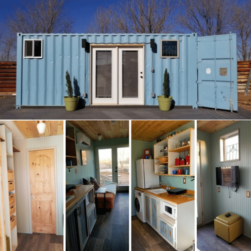 TINY AUSTRALIA CONTAINER HOME