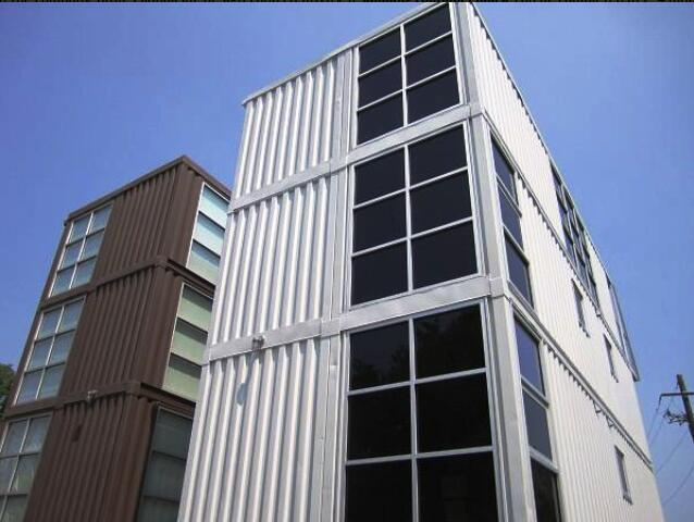 shipping container house for hotel and apartment