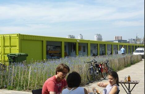 Shipping Container Cafe -L