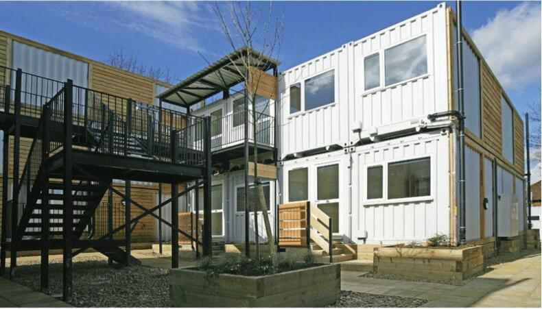 MARSTON COURT CONTAINER HOMES---L