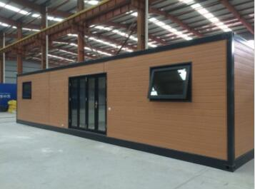 40ft CONTAINER HOME MOBILE HOME WPC CLADDING-L